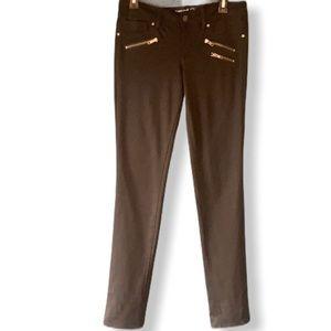 Grane Black Skinny Stretch Comfort Pants